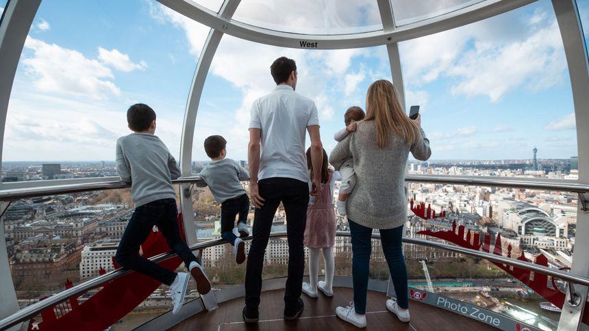 London Eye. Huge savings for Carers