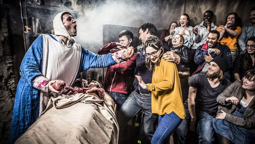 The London Dungeon. Huge savings for Carers