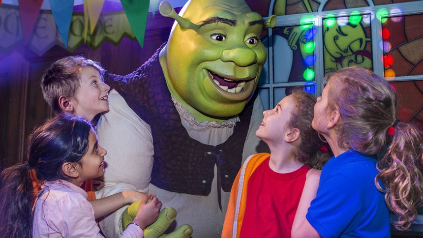 Shreks Adventure London. Huge savings for Carers