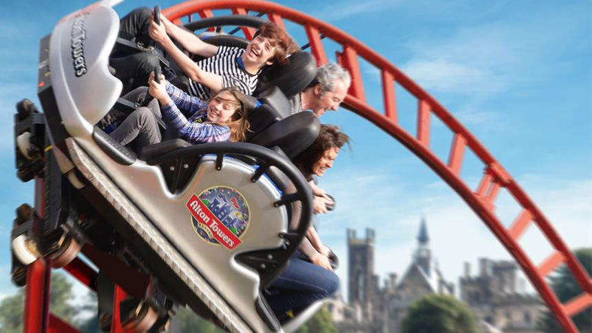 Alton Towers Resort. Huge savings for Carers