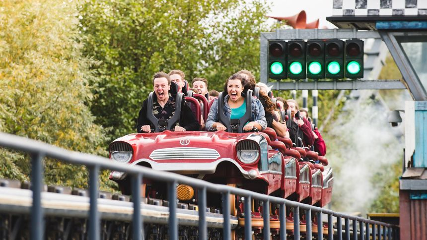 THORPE PARK Resort. Huge savings for Carers