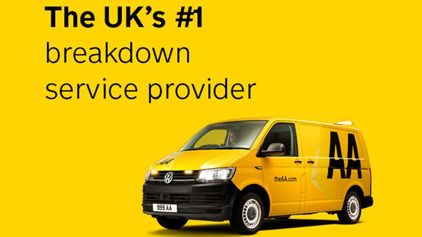 AA Breakdown Cover - Carers exclusive from £4 per month