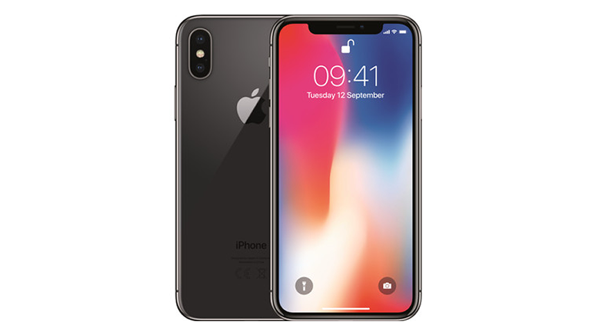 Free iPhone X. £58 a month
