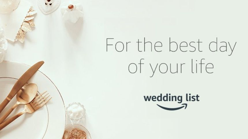 Amazon Wedding List. Build your perfect wedding gift list