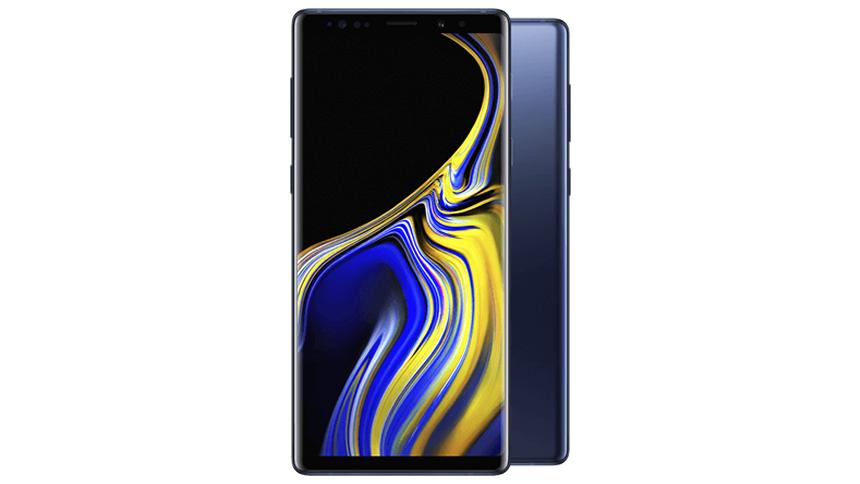 Samsung Galaxy Note 9. £38 a month