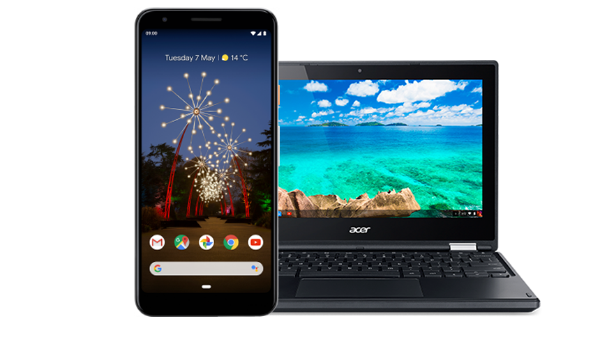 Google Pixel 3a XL. FREE Acer Chromebook worth £199