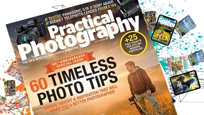 Practical Photography Magazine. Save 33% on 12 months subscription