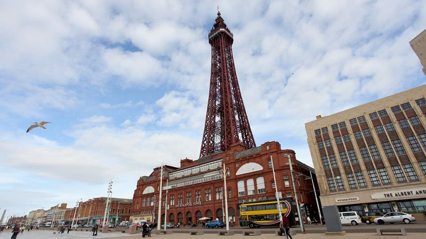 The Blackpool Tower. Huge savings for Carers