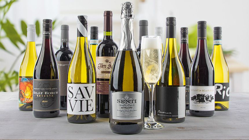 Virgin Wines. Save over 50% on 12 Wines plus FREE prosecco & delivery