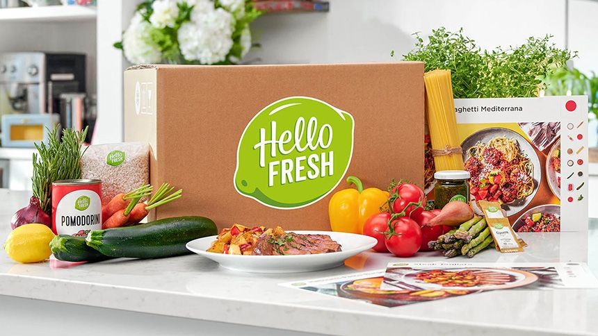 HelloFresh - £15 off your first 4 recipe boxes