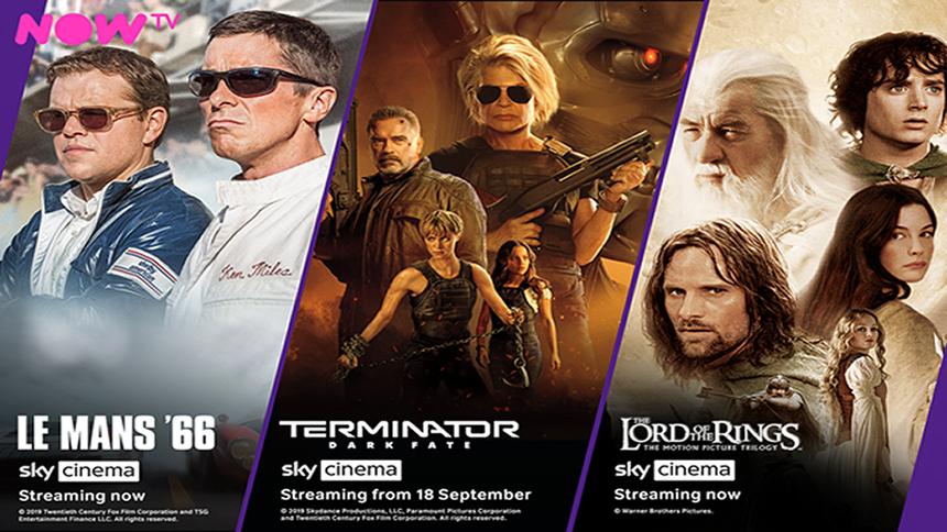 Sky Cinema - Just £9.99 a month