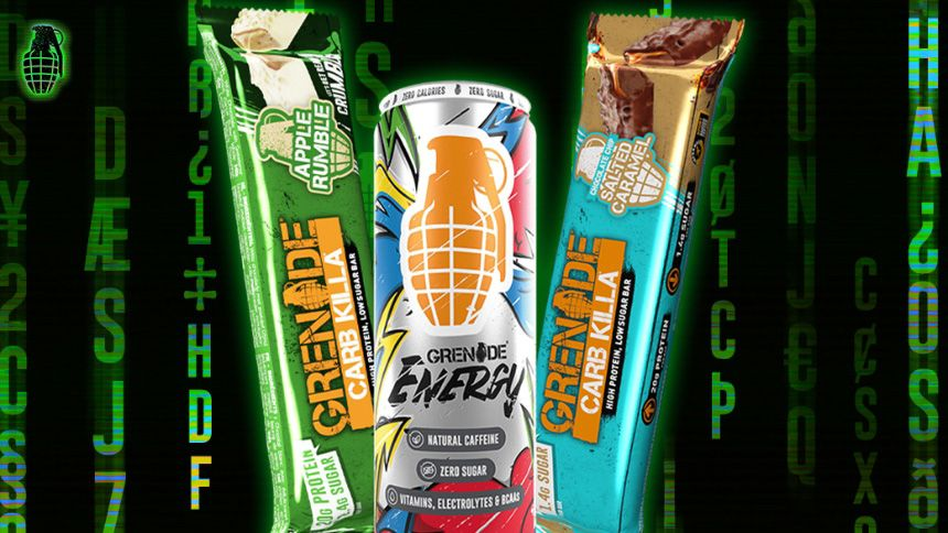 Grenade Protein Bars - Up to 50% off