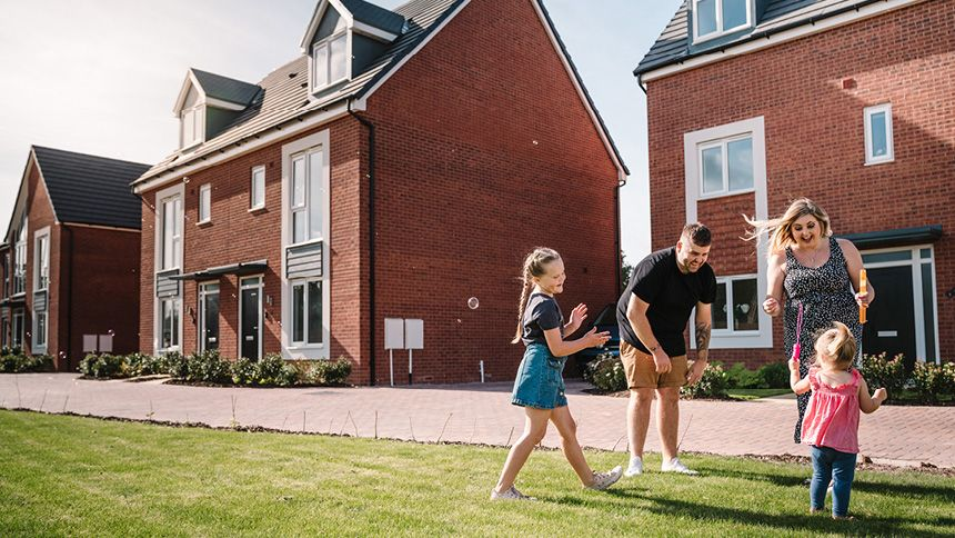 St. Modwen New Build Homes - £5,000 Carers bespoke offer
