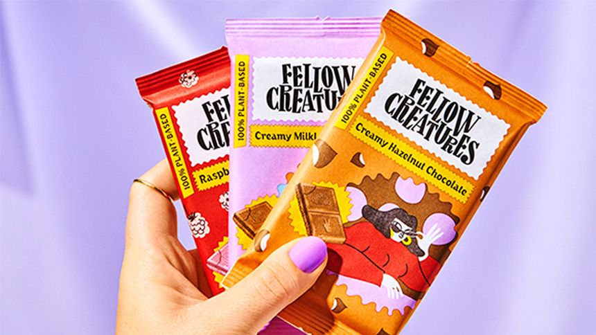 Fellow Creatures Chocolate - 3 FREE bars of chocolate