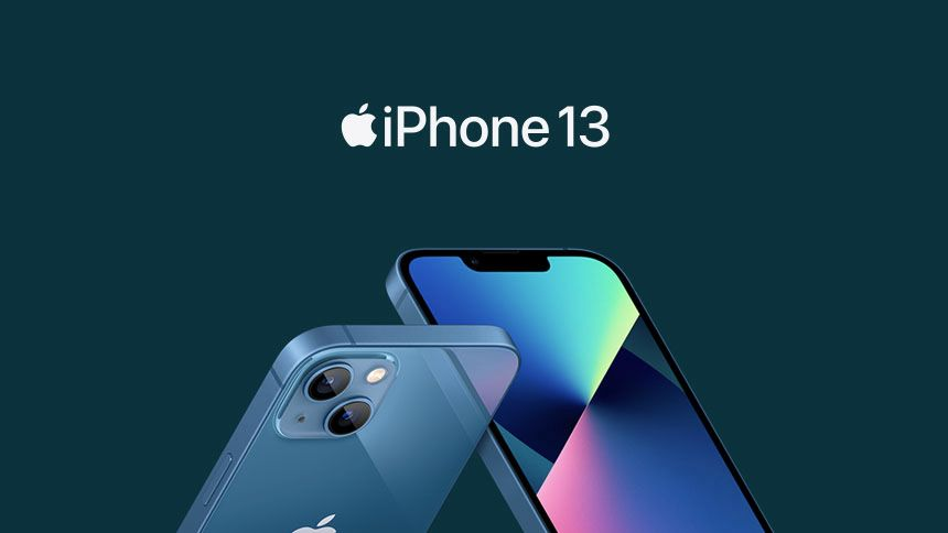 New iPhone 13 - £0 upfront + £47 a month