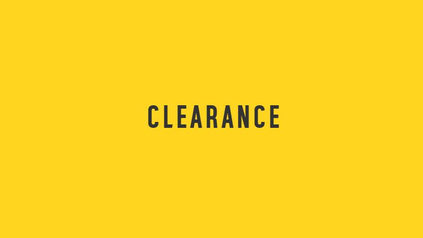 Argos Clearance - Up to 50% off