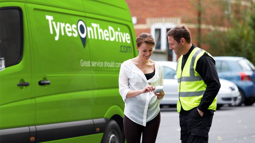 Tyres On The Drive. Up to £50 off