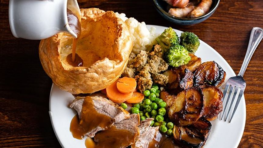 Toby Carvery. Midweek treat - extra £1.99 for two courses