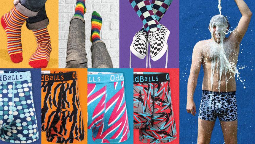 OddBalls Underwear. 10% Carers discount