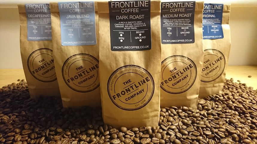 Frontline Coffee. 20% Carers discount