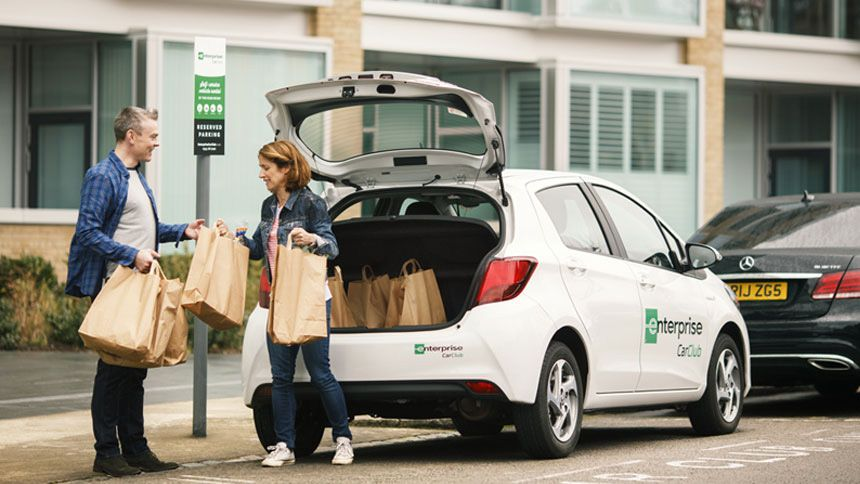 Enterprise Car Club - Free membership to Enterprise Car Club for Carers