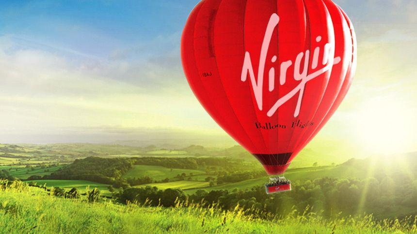 Virgin Balloons. £35 off anytime balloon flights